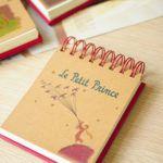 Cuaderno de notas con espiral El Principito